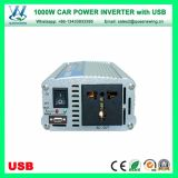 Portátil 1000W Solar Car Power Inverter con puerto USB (QW-1000MUSB)