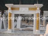 Cheminée de marbre cylindrique (SY-MF104)
