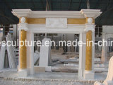 Цилиндрический мраморный камин (SY-MF104)