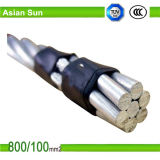 Проводник усиленный сталью ACSR проводника ASTM стандартной надземной алюминиевой