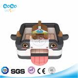 Coco-Wasser-Entwurfs-Kind-Spielzeug-aufblasbarer Kuh-Prahler LG9035