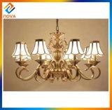 Grande indicatore luminoso di soffitto Bronze moderno di lusso classico del lampadario a bracci