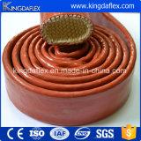 Manchon de protection en fibre de verre et en silicone résistant à l'huile et à l'eau
