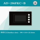 4.3インチのビデオドアの電話シェル(AD-206FKC-B)