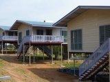 Casa modular de acero de la familia
