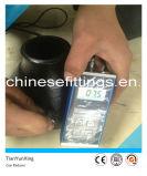 Réducteur concentrique sans joint d'ajustage de précision de pipe d'acier du carbone d'A420 Wpl6