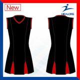 Faldas baratas de las alineadas de los uniformes del Netball de las personas de mujeres de la sublimación