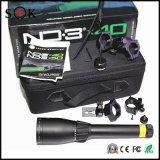 Vue interurbaine neuve de laser de la génétique ND3 X40 de laser de vert avec le support