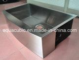 LuxuxUndermount einzelne Filterglocke-Edelstahl-Küche-Wanne (ACS3320A1)