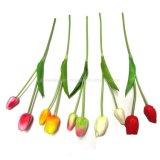 Flores artificiais de Rosa do Mão-Sentimento Home do plutônio da decoração