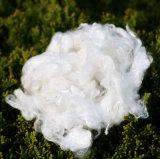 Fibra de viscose para tecido não tecido