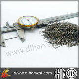 Fibre extraite par fonte d'acier inoxydable pour l'horizon d'usine/piste d'aéroport/construction de la colle