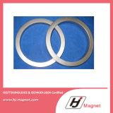 Постоянный спеченный магнит NdFeB бора утюга неодимия кольца редкой земли с наивысшей мощностью