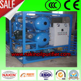 Macchina completamente automatica di depurazione di olio del trasformatore, sistema di filtrazione dell'olio