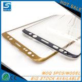 protector de cristal por completo curvado de la pantalla del teléfono 3D para Samsung S8