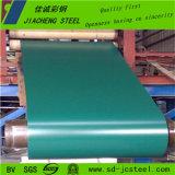중국 색깔은 권투에서 강철 코일 공장을 입혔다