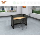 Poste de travail contemporain à extrémité élevé de bureau de compartiment de meubles de bureau