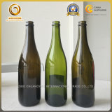 Shandong en fournisseur de bouteille en verre de Champagne de vert de vente (066)