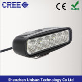 9-32V 6inch 18W Mini LED Auto Work Light Bar