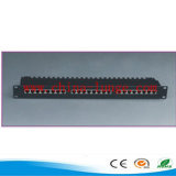 RJ45 Patch Panel Cat5e / Utpcat 48 puertos del panel de Patch