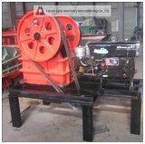 Pequeña/mini máquina movible de la trituradora de quijada con precio bajo 3000-6000 USD, pequeña trituradora de quijada