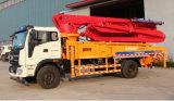 Camion competitivo della pompa per calcestruzzo di 25m con la collocazione dell'asta