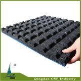 Hoog elastiek - de Mat van de Vloer van de Gymnastiek van Crossfit van de dichtheid