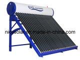Riscaldatore di acqua calda solare ad alta pressione del condotto termico