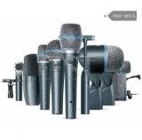 Beta kit professionale del microfono del timpano dello studio Dmk7-XLR7 di Shur