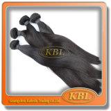 マレーシアの毛のWeft Remyの自然な毛