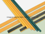 Buena tenacidad y barra/Roces anticorrosión de la fibra de vidrio FRP GRP de Pultruded