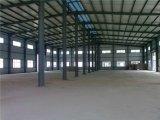 La costruzione prefabbricata ha progettato la tettoia del magazzino del gruppo di lavoro della struttura d'acciaio