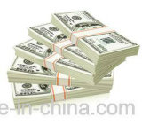 De bande paerforée estampé par coutume obligatoire d'argent