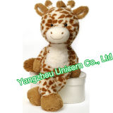 Le CE badine les cerfs communs mous de jouet de peluche de giraffe de peluche de cadeau