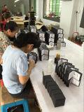 Коробка высоких лоснистых ювелирных изделий отделки деревянных установленная (установленный подарок ювелирных изделий)