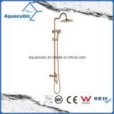 Faucet de bronze da torneira do chuveiro da em-Parede para o banheiro