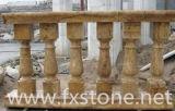 De de marmeren Balustrade van /Stone van de Balustrade/Gravure van de Steen