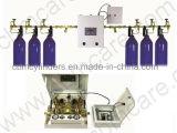 Distribuidor automático do gás da anestesia