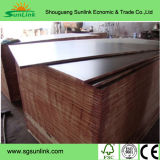 Poplar/Hardwood Core Recycles Film Faced Plywood Finger Joint Grade (HBR001)