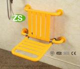 Cadeiras de dobramento brancas de nylon da desvantagem do banheiro barato