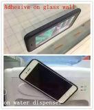 Caso anti mágico de la gravedad PC+TPU de la succión nana libre del iPhone 7 de la mano con el orificio redondo de la insignia