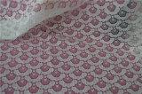 Tela africana do laço de matéria têxtil Home química francesa para a senhora Vestuário/vestido