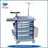 Ospedale mobile dell'ABS e carrello di emergenza medica