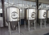 Tanque de fermentação cónico da cerveja do aço inoxidável