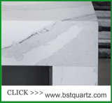 Lajes artificiais da pedra de quartzo de Calacutta