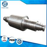 Asta cilindrica idraulica del acciaio al carbonio 45# con CNC che lavora, precisione forgiata