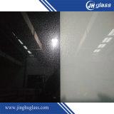 Vidrio laqueado brillante oscuro negro para la decoración del edificio