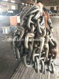 Ketting van het Anker van de Link Studless van de hete ONDERDOMPELING de Gegalvaniseerde