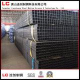 casilla negra Corea exportada tubo de acero de la venta caliente de 50mmx30m m