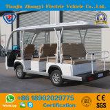 Ventas directas de la fábrica del coche de visita turístico de excursión eléctrico de 11 asientos